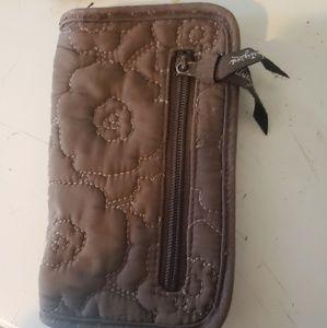 Thirty one brand zip around wallet